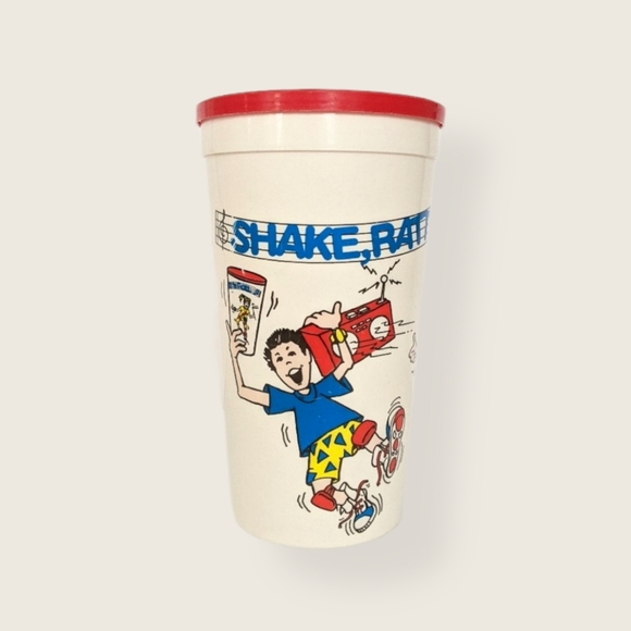 Vintage Jell-O Shake Rattle N Roll Pudding Shaker